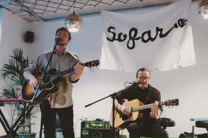 The band playing at SoFar Sounds